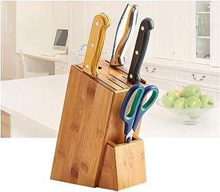 LEMON TREE SL Bloque de Madera para Cuchillos y Utensilios de Cocina Organizador. Bloque Porta Cuchillos de Cocina. Medidas 16x22cm.