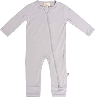 KYTE BABY Soft Bamboo Rayon Rompers, Zipper Closure, 0-24 Months