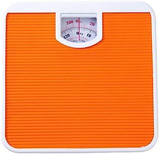 Básculas de grasa corporal mecánicas básculas de peso digital para el hogar o el cuarto de baño báscula de 130 kg de salud de medición de la balanza conectada modelos de grasa naranja
