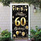 60 Geburtstag Dekoration Schwarz Gold, 60 Geburtstag Party
