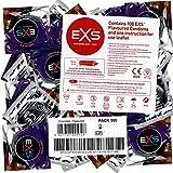 EXS Hot Chocolate 100 condones, con sabor di chocolate