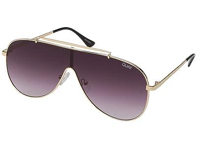 QUAY AUSTRALIA Quay x JLo El Dinero (Gold/Purple Fade) Fashion Sunglasses