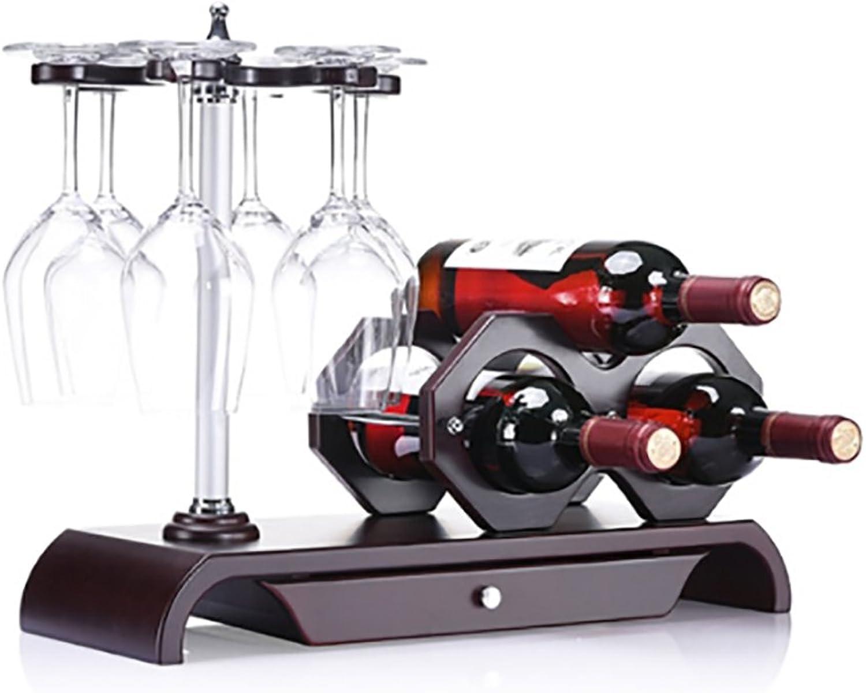 gran venta Lei ZE Jun UK- Personalidad Personalidad Personalidad Creativa Práctica Hotel Bar Home Living Room Adornos de gabinete de Vino Mostrar Rine Rack Botelleros  Precio por piso