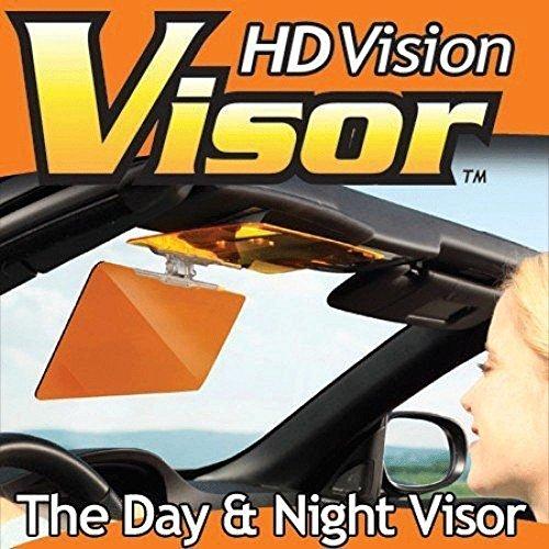 Hd Vision Visor Day & Night Easy View As Seen on Tv Sun Glare Blocks Uv Rays