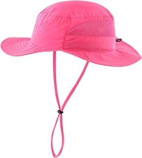 Connectyle Women's Mesh Boonie Sun Hat Wide Brim UV Protection Beach Fishing Hat