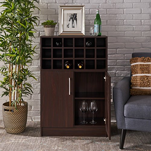 Christopher Knight Home Rouche Cabinet, Walnut