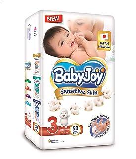 حفاضات الاطفال من بيبي جوي، مقاس بريميوم 3 - 58 حفاض