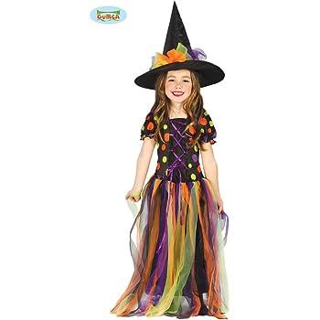 Disfraz de Bruja Círculos de Colores para niña - 10-12 años ...