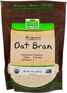 NOW Foods Natural Oat Bran - 14 oz