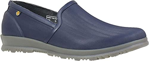 Ladies BOGS Waterproof Sweet PEA Slip ON zapatos 72197-UK 6 (EU 39)