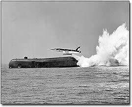 USS Grayback Submarine Fires Regulus II Missile 11x14 Silver Halide Photo Print