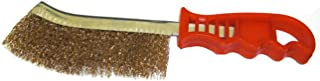 BK PROSPEROUS Plastic Handle Stainless Steel Wire Hand Scratch Brush Rust Weld Cleaning (1Pcs)