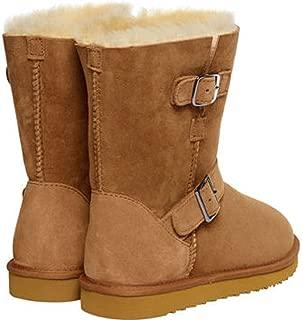 Kirkland Signature Women's Shearling Buckle Boots