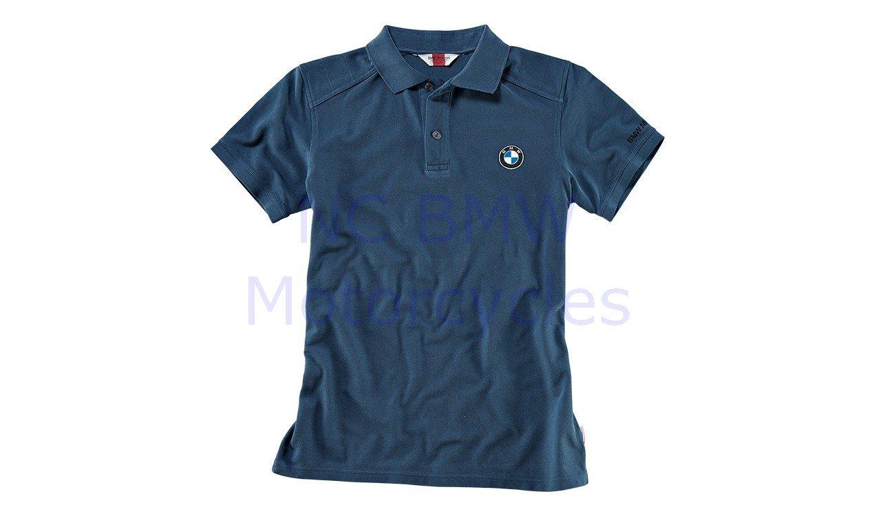 BMW Motorrad motocicletas logotipo Polo Hombres camiseta Azul ...
