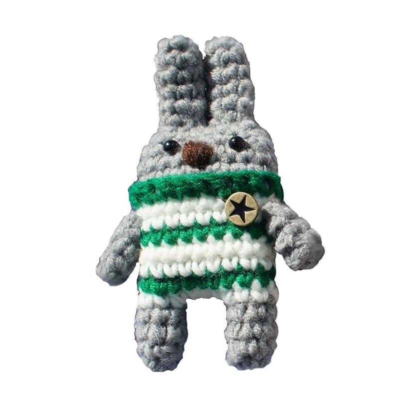 iHanco My Friend Bunny Mini Knitting DIY Kit Light Gray