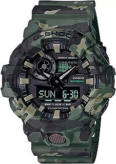 ساعة كوارتز للرجال من كاسيو، بعرض انالوج-رقمي وسوار من الراتنج