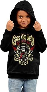 Style Kids Gas Monkey Garage Equipped Hooded Sweatshirt.
