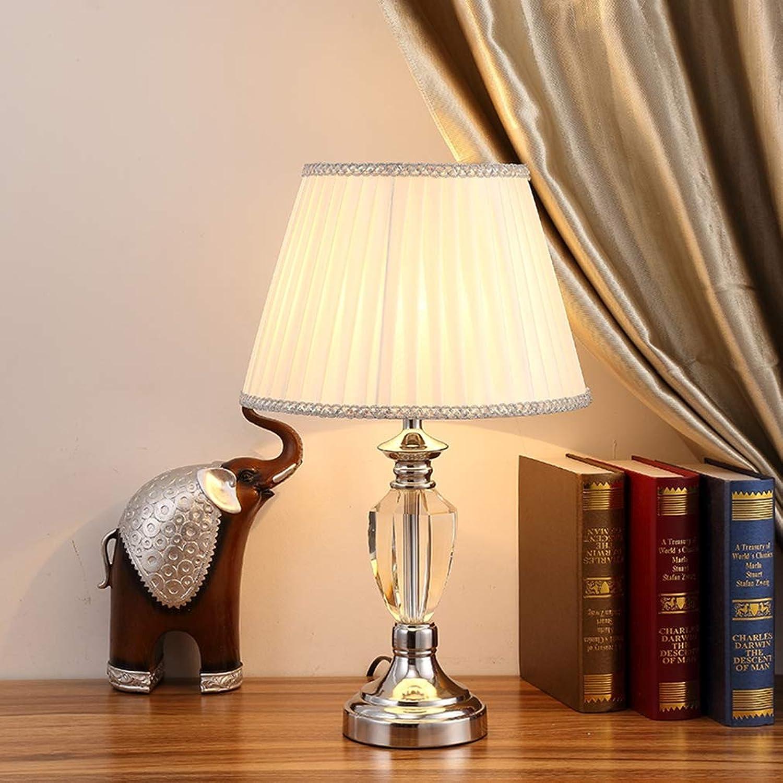 SAC d'épaule Schlafzimmer nachttischlampe, kristall tischlampe kreative einfache Dekoration Wohnzimmer arbeitsraum warme tischlampe,B
