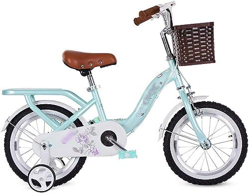 costo real JianMeiHome Bicicleta para Niños Bicicleta para Niños 2-10 2-10 2-10 años Pedal Bicicleta verde  tienda