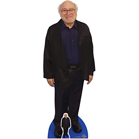 "STAR CUTOUTS ""Danny DeVito (cartón, Multicolor"