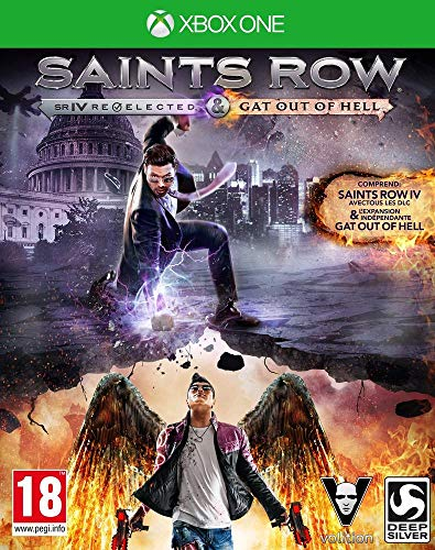 Saints Row IV : Gat out of Hell + édition re-elected - édition première - [Edizione: Francia]