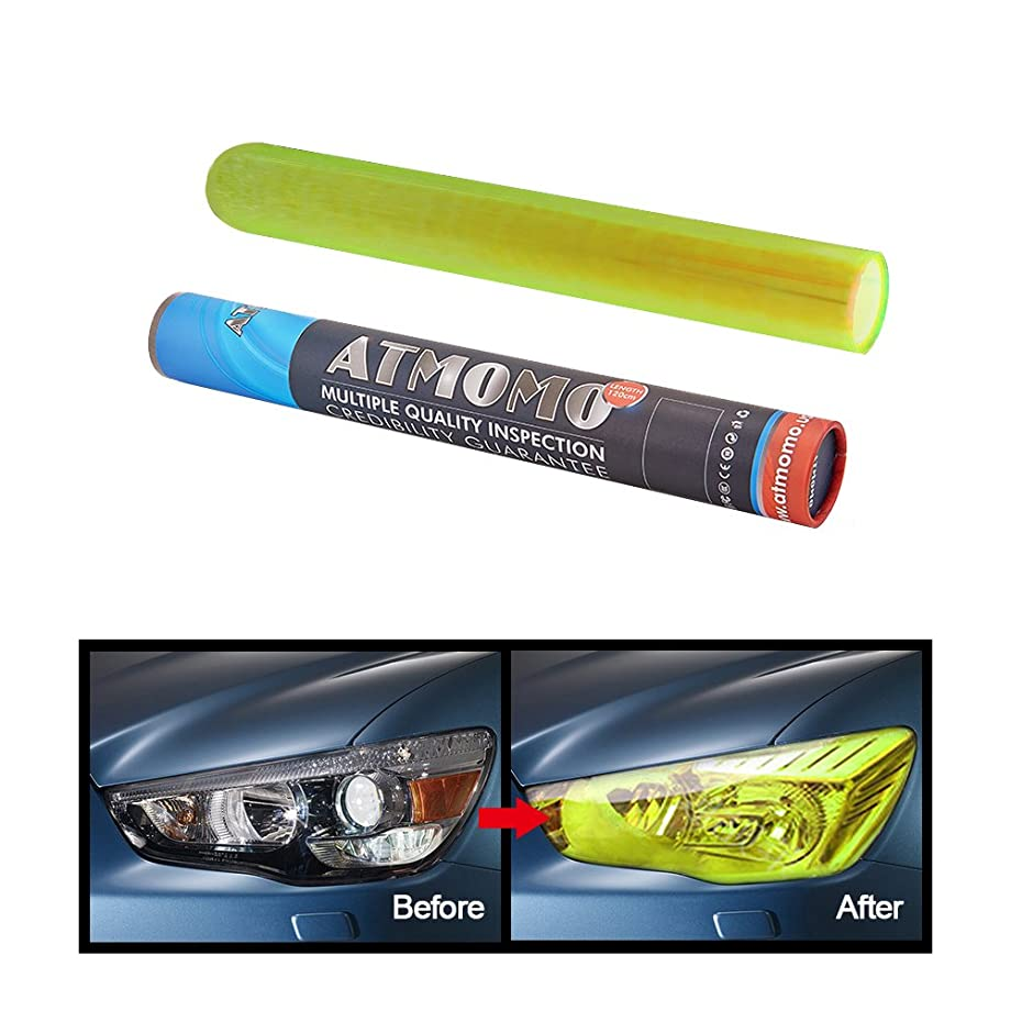 ATMOMO 30cm x 120cm Auto Shiny Chameleon Light Headlight Taillight Tint Vinyl Film Sticker(Fluorescence)