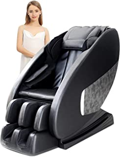 OOTORI Massage Recliner Leather Electric Massage Chairs & Recliner/Full Body,Zero Gravity, Remote Control, Heat & Vibration Modes