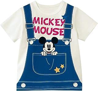 [ベルメゾン] ディズニー Tシャツ ボーイズ ガールズ 半袖 名札ココ Tシャツ・カットソー