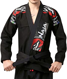 Naja Pro Grade BJJ Karate Taekwondo Martial Arts Sports Gi, Unisex, Preshrunk Grappling Uniforms