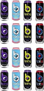 VPX Bang Variety - Rainbow Unicorn, Starblast, Purple Guava Pear, Purple Haze 16fl.oz. (Pack of 16)