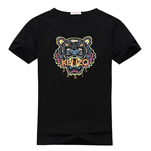 3cc5ea41 Kenzo Paris Logo For 2016 Mens Printed Short Sleeve tops t shirts