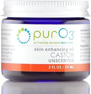 PurO3 Fully Ozonated Castor Oil - 2 oz