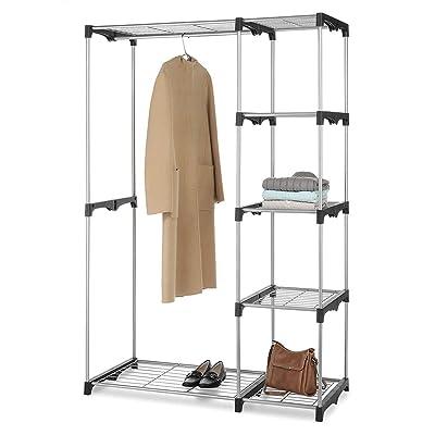 Lovinland Portable Practical Five-Tier Wardrobe...