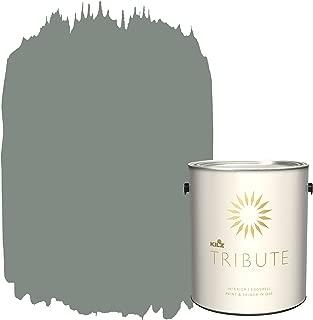 KILZ TRIBUTE Interior Eggshell Paint and Primer in One, 1 Gallon, Lincoln Green (TB-68)