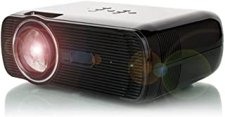 Mini Portable Projector,3D HD 1080P LED Projector Home Cinema Theater,2300 Luminous VGA USB AV HDMI Support,Enable Zoom Up to 300inch Black