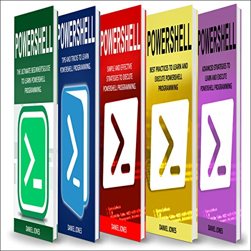 Powershell: 5 Books in 1 cover art