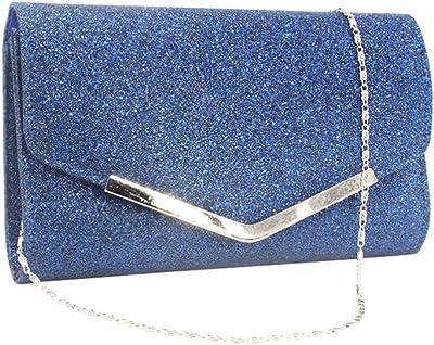 Lurrose Nachttasche, Handtasche für Partys, Hochzeiten, Handtasche, Kupplungstasche, einfache Kette für Frauen