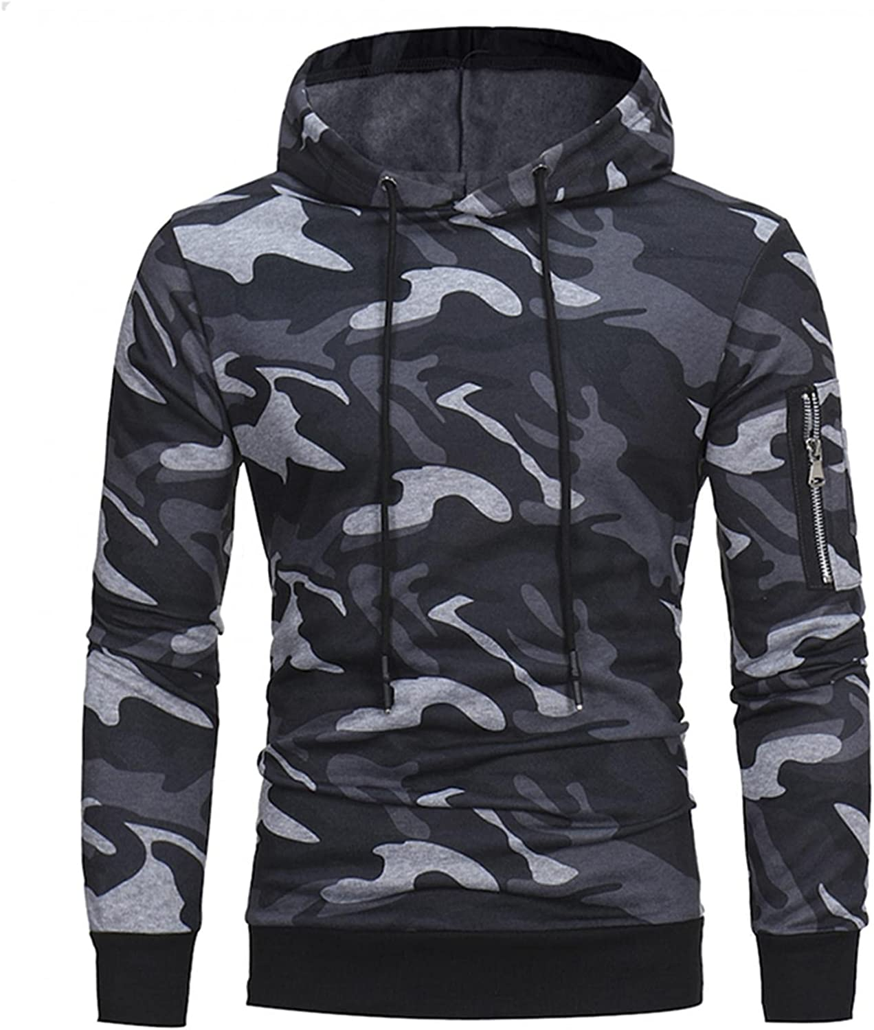 Men's Hoodie Camouflage Printed Popular Oakland Mall brand in the world Sleeve Long Athletic Sweatshirt