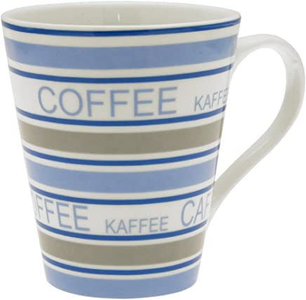 Preisvergleich für Unbekannt Jean Products Kaffeebecher Tasse Kaffee Becher Teetasse Porzellan Blau 300 ml