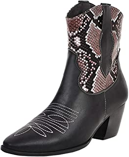Zanpa Women Fashion Western Booties