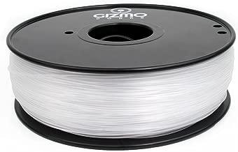 Gizmo Dorks 1.75mm ABS Filament 1kg / 2.2lb for 3D Printers, Transparent