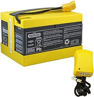 BatteryMart Kit for Peg Perego Original 24 Volt Yellow High Capacity Battery & Charger