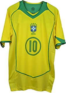 Amazon.it: Maglia Brasile - Blu