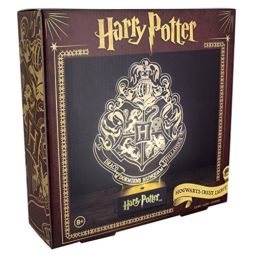 Hogwarts Wappen Holografisches 3D Licht [Importación Alemana]