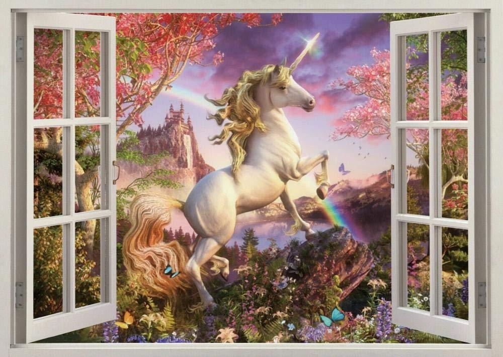DDSYJ 3D Super sale 2021 autumn and winter new Wall Stickers Fairies Fantasy Poste Sticker Art
