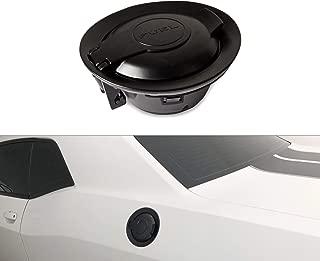 Tepeng Matte Black Vapor Edition Fuel Filler Door Gas tank door 68250120AA Fit for Dodge Challenger 2008-2019