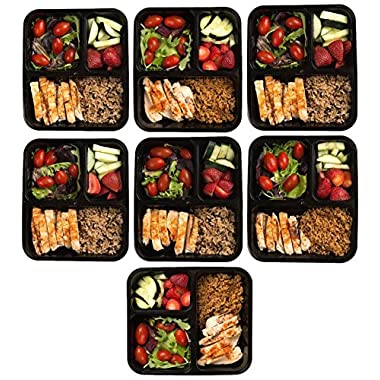 packnco 16 Meal Prep Containers with Cutlery