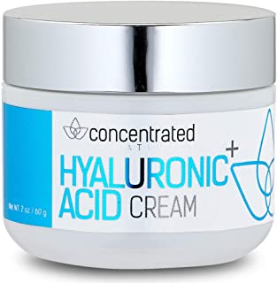 Sponsored Ad - Concentrated Naturals Hyaluronic Acid Cream for Face | w/Jojoba Oil, Vitamin E & Vitamin C | May Help Hydra...