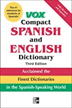Vox Compact Spanish and English Dictionary, 3rd Edition