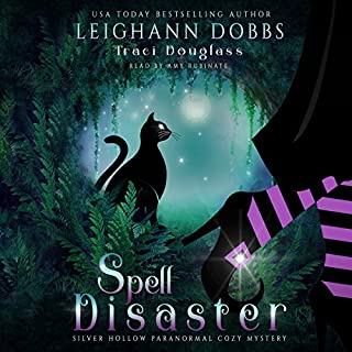 Spell Disaster audiobook cover art